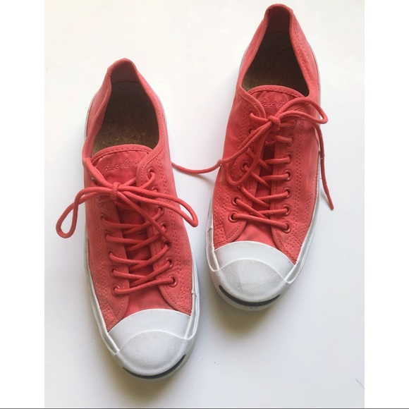 38466fac9eac1 Converse Jack Purcell Coral Sneakers Tennis Shoes
